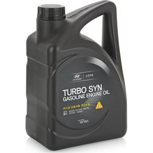 Моторное масло HYUNDAI/KIA TURBO SYN 5W30, 4 литра, синтетическое