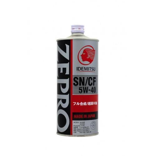 IDEMITSU Zepro Euro Spec SN/CF 5W40, 1 литр
