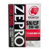 IDEMITSU Zepro Euro Spec SN/CF 5W40, 4 литра