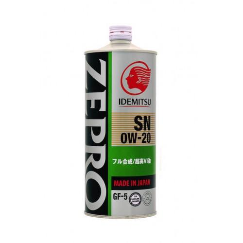 IDEMITSU Zepro Eco Medalist 0W20, 1 литр