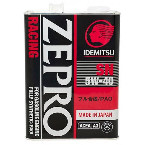 IDEMITSU Zepro Racing 5W40, 4 литра