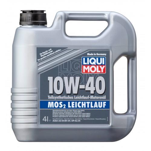 Liqui Moly MoS2 Leichtlauf 10W40, 4 литра