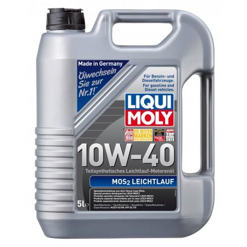 Liqui Moly MoS2 Leichtlauf 10W40, 5 литров