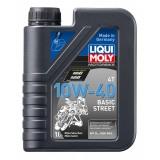 Liqui Moly Motorbike 4T Basic Street 10W40, 1 литр