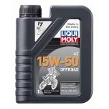 Liqui Moly Motorbike 4T Offroad 15W50, 1 литр