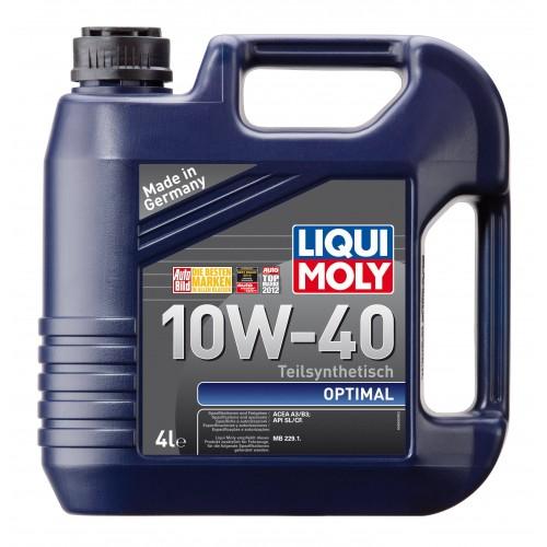 Liqui Moly Optimal 10W40, 4 литра