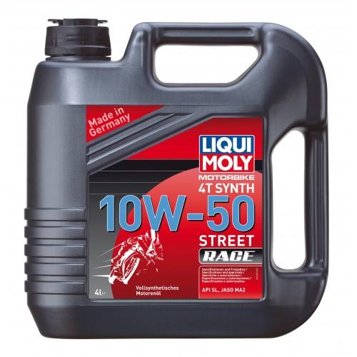 Liqui Moly Racing Synth 4T 10W50, 4 литра
