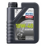 Liqui Moly Scooter Motoroil Synth 4T 10W40, 1 литр