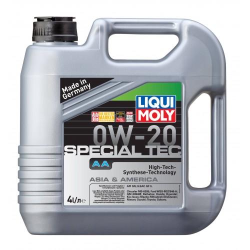 Liqui Moly Special Tec AA 0W20, 4 литра