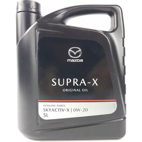 Моторное масло Mazda Dexelia Supra-X 0W20, 5 литров, синтетическое