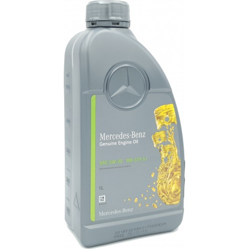 MERCEDES PKW Motorenol 229.51 5W-30, 1 литр