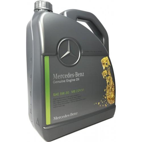 Моторное масло MERCEDES PKW Motorenol 229.51 5W30, 5 литров, синтетическое