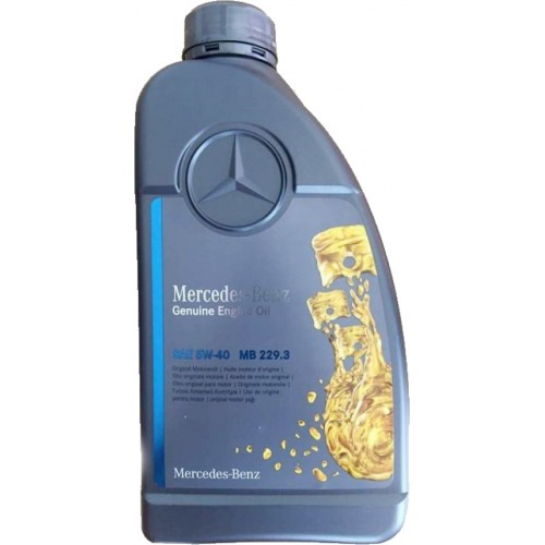 Моторное масло MERCEDES PKW Motorenol 229.3 5W40, 1 литр, синтетическое