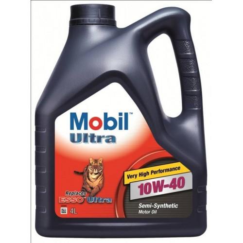 Моторное масло MOBIL ULTRA 10W40, 4 литра,