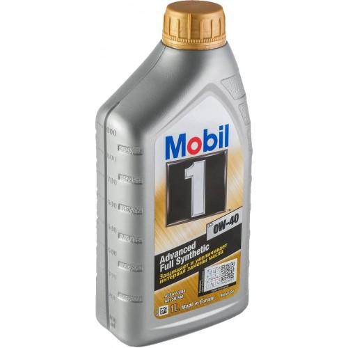 Моторное масло MOBIL 1 FS 0W40, 1 литр,