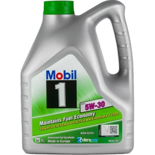 Моторное масло MOBIL 1 ESP Formula 5W30, 4 литра, синтетическое