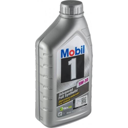 Моторное масло MOBIL 1 x1 5W30, 1 литр,