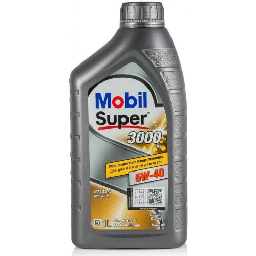 Моторное масло MOBIL Super 3000 X1 5W40, 1 литр,