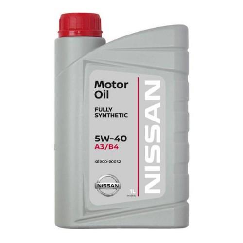 Моторное масло Масло моторное NISSAN 5W40, 1 литр, синтетическое