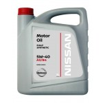 Масло моторное NISSAN 5W40, 5 литров