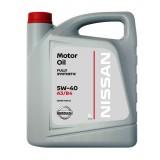 Моторное масло NISSAN 5W40, 5 литров