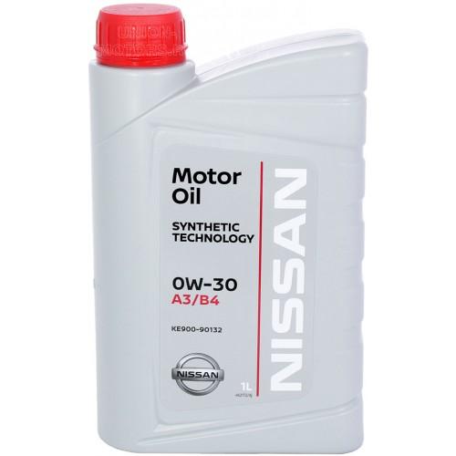NISSAN Motor Oil 0W30, 1 литр