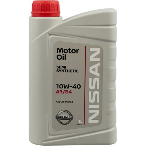 Масло моторное NISSAN Motor Oil 10W40, 1 литр