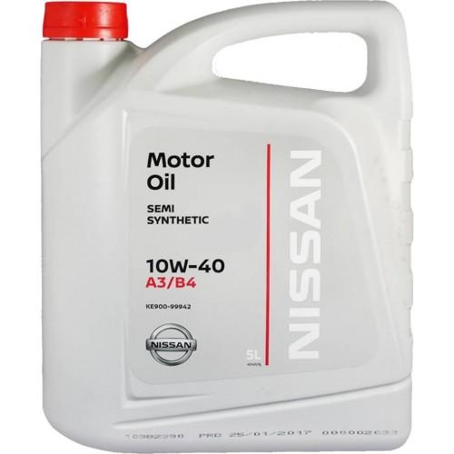 Масло моторное NISSAN Motor Oil 10W40, 5 литров