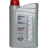 Масло моторное NISSAN Motor Oil 5W30, 1 литр
