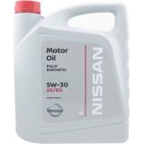 Моторное масло NISSAN 5W30 FS A5/B5, 5 литров