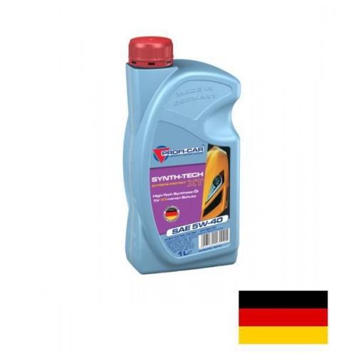 Моторное масло PROFI-CAR 5W40 Synth-Tech XT, 1 литр, синтетическое