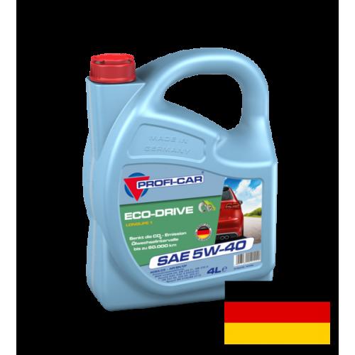 Моторное масло PROFI-CAR 5W40 Eco-Drive LONGLIFE I, 4 литра,