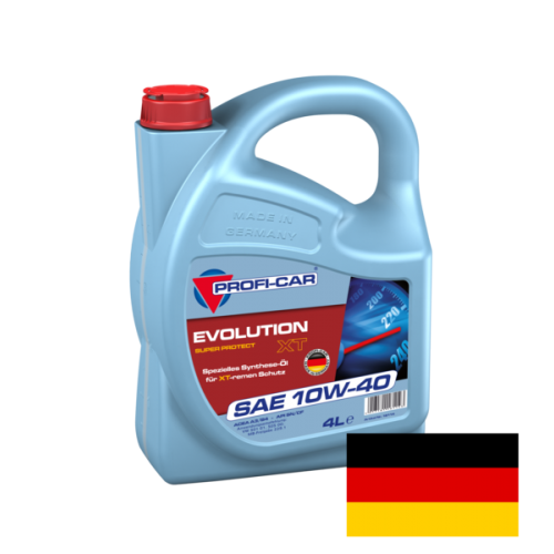 Моторное масло PROFI-CAR 10W40 Evolution XT, 4 литра,