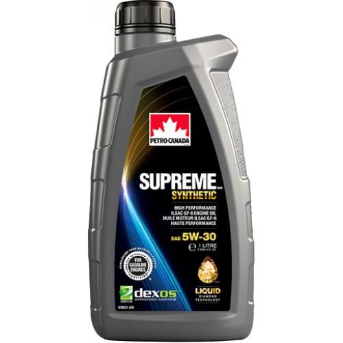 Моторное масло Petro-Canada SUPREME SYNTHETIC 5W30, 1 литр,