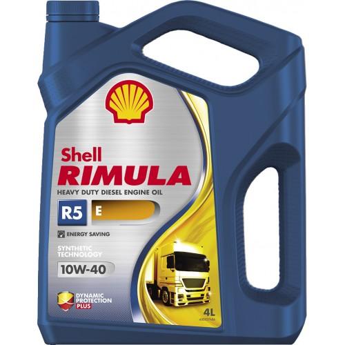 Моторное масло SHELL Rimula R5 E 10W40, 4 литра,