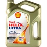 SHELL Helix Ultra ECT C2/C3 0W30, 4 литра