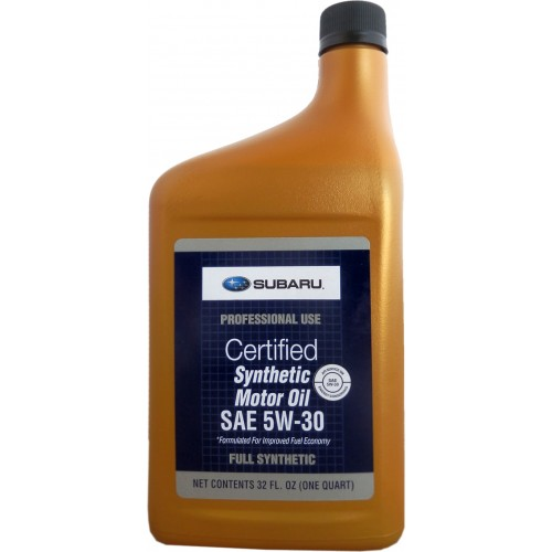 SUBARU Synthetic Motor Oil SAE 5W30, 0.946 литра