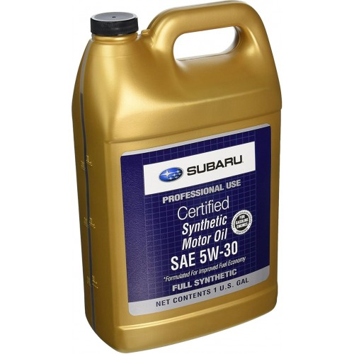 Моторное масло SUBARU Synthetic Motor Oil SAE 5W30, 3.785 литра, синтетическое