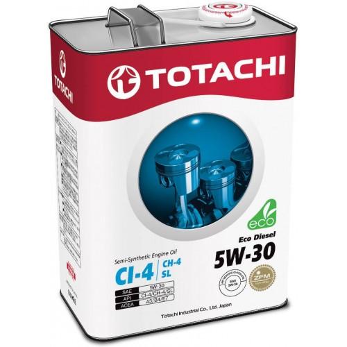 Моторное масло TOTACHI Eco Diesel 5W30, 6 литров,