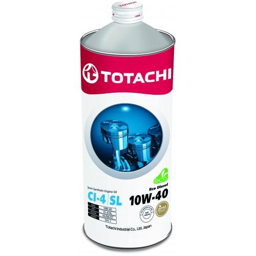 Моторное масло TOTACHI Eco Diesel 10W40, 1 литр,