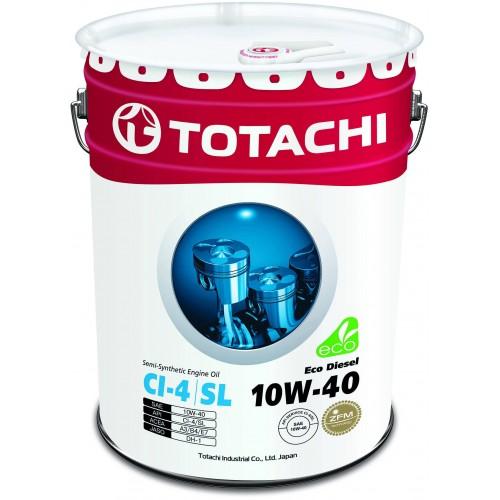Моторное масло TOTACHI Eco Diesel 10W40, 20 литров,