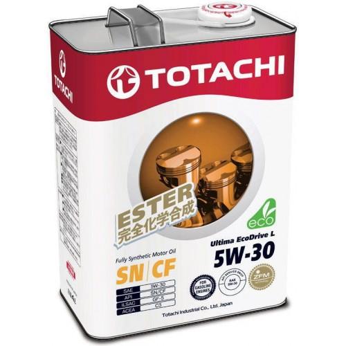 Моторное масло TOTACHI Ultima EcoDrive L 5W30, 4 литра,