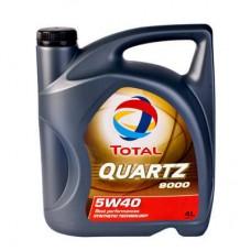 TOTAL QUARTZ 9000 5W40, 4 литра