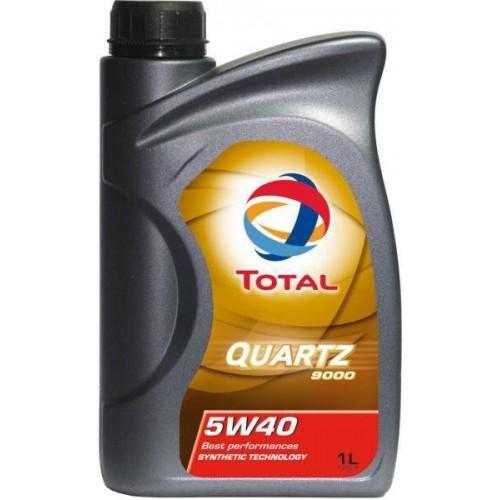 Моторное масло TOTAL QUARTZ 9000 5W40, 1 литр,