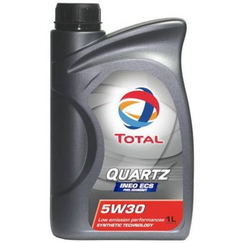 Моторное масло TOTAL QUARTZ INEO ECS 5W30, 1 литр,