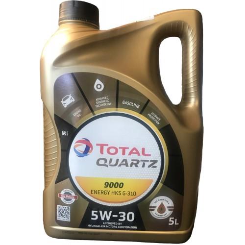 Моторное масло TOTAL QUARTZ 9000 ENERGY HKS G-310 5W30, 5 литров,