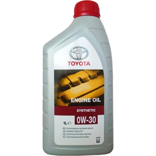 TOYOTA ENGINE OIL 0W30 SL/CF, 1 литр