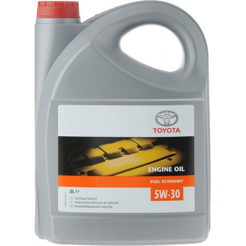 Моторное масло TOYOTA Engine Oil Fuel Economy SAE 5W30, 5 литров, синтетическое