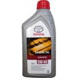 TOYOTA ENGINE OIL SAE 5W40 SL/CF, 1 литр