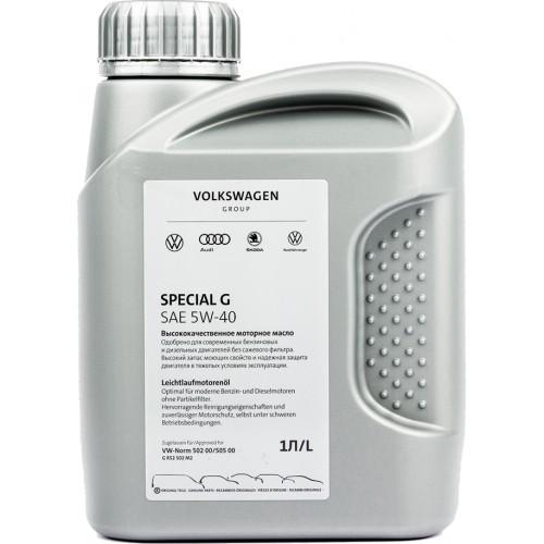 Моторное масло VAG SPECIAL G 5W40, 1 литр, синтетическое